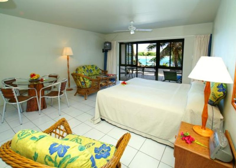 Stunning waterfront studio, vacation rental in Rarotonga