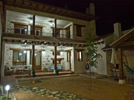 Casa rural (alquiler íntegro) El Corral de Acacio para 20 personas, casa vacanza a Aguilafuente