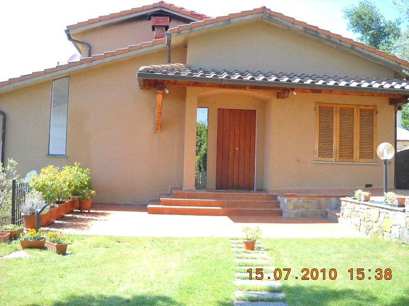 VILLETTA PANORAMICA SULLE COLLINE TOSCANE, vacation rental in Cancelli
