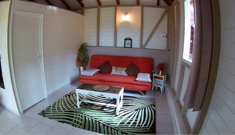 Joli bungalow de campagne Kachiman, location de vacances à Saint-Esprit