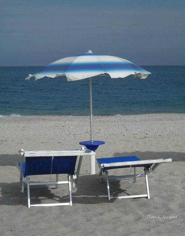 Relaxe na praia