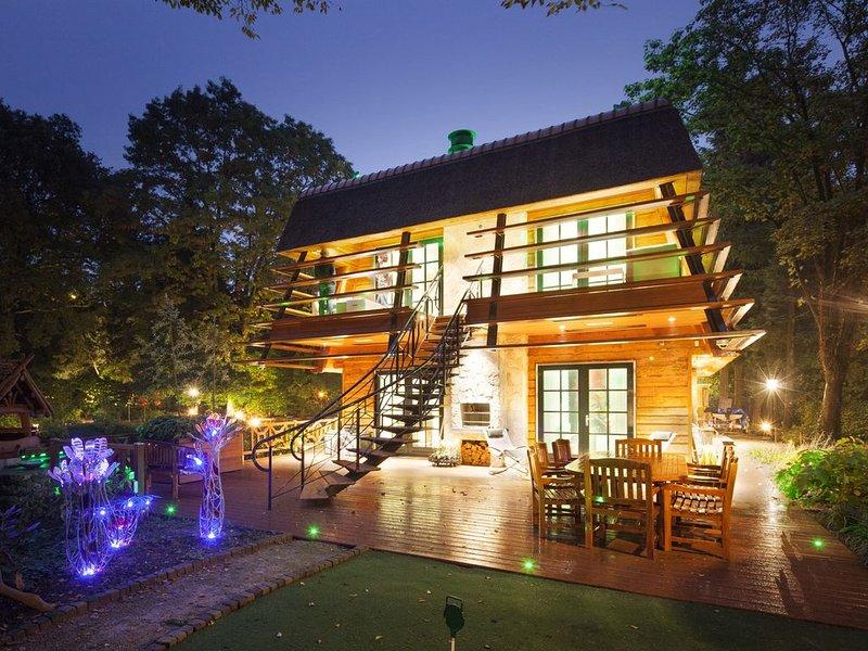 Uniek tuinhuis in Laren met high tech voorzieningen, veel luxe en comfort, alquiler vacacional en Hoogland