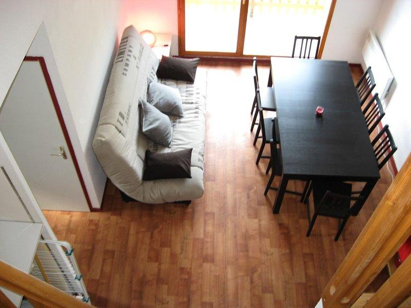 Duplex dernier étage pour 8 personnes avec vue exceptionnelle à Valfréjus, location de vacances à Saint-André