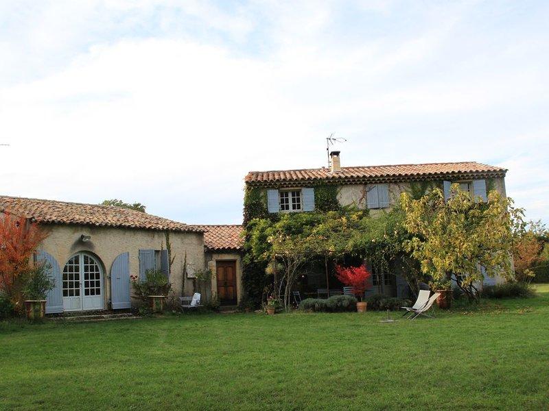 Maison de charme Lubéron, holiday rental in Limans