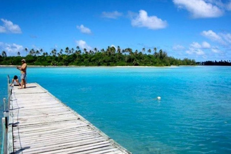 Avana Waterfront Apartment - Apt # 3 - 2 bedroom, vacation rental in Rarotonga
