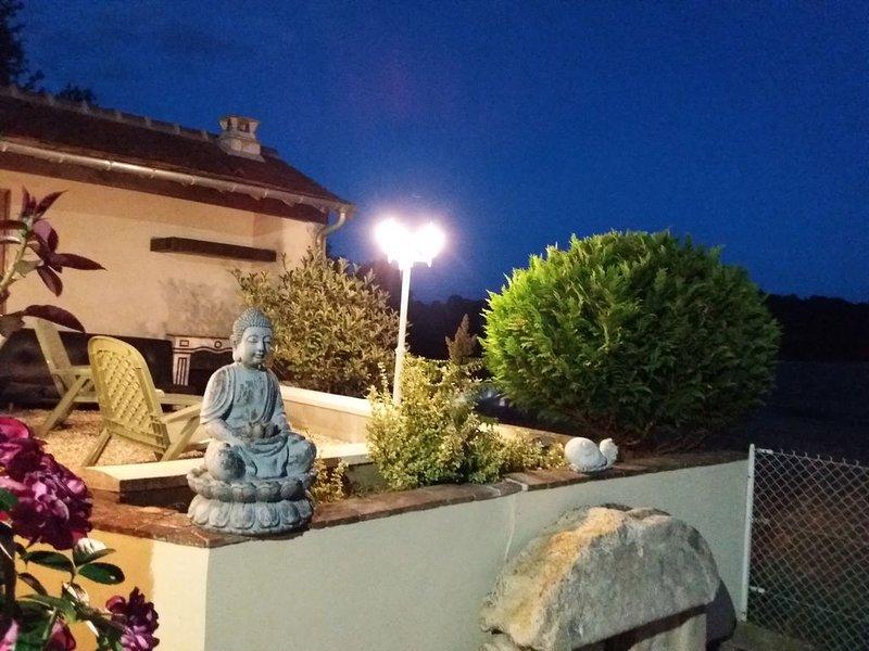 Gîte dans le Perche avec terrasse, Le Loft,près de Bellême, holiday rental in Saint-Germain-des-Grois