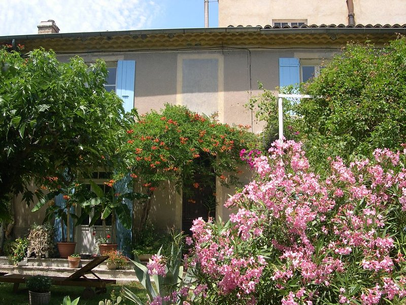Gîte du Moulin de l'Eygues, holiday rental in Sahune