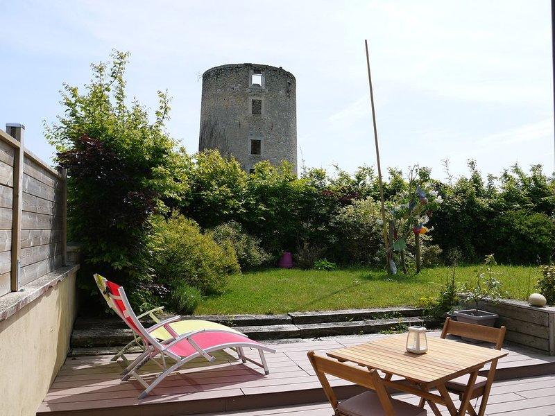 A proximité de Wissant, Ambleteuse, Wimereux, Gîte du Moulin, 2-4 pers, location de vacances à Marquise