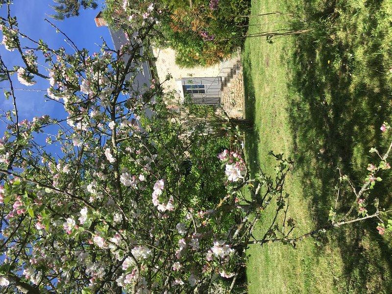 Ravissante maison de campagne 19ème s.tout confort grand charme et vraie nature, casa vacanza a Berry