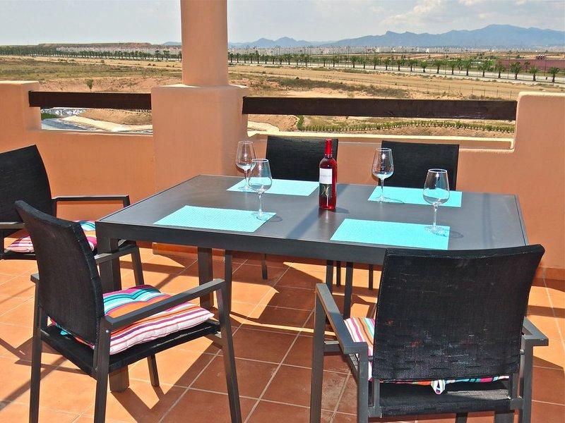Top Floor Corner Penthouse, holiday rental in Camposol