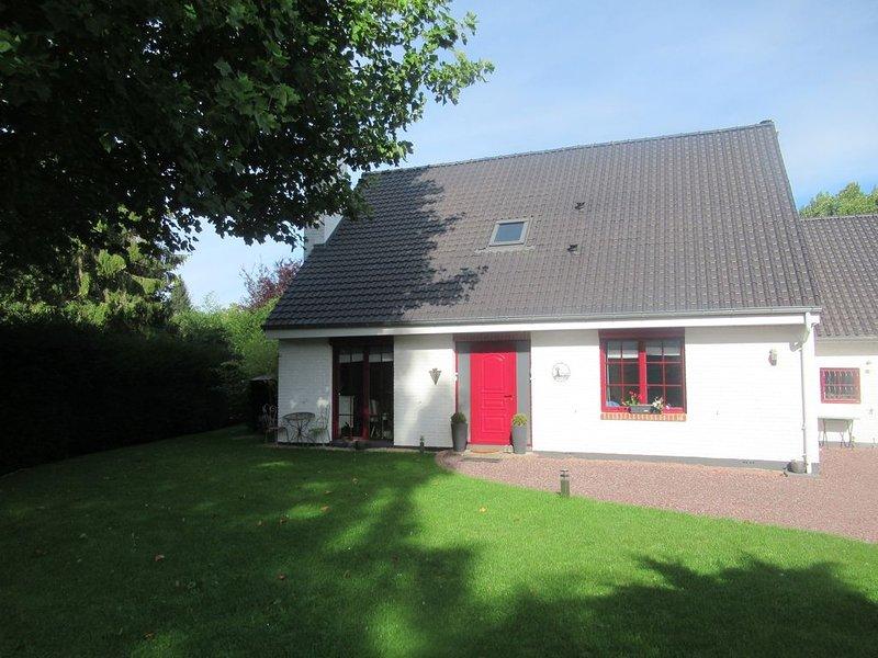 Cottage Arrageois dans quartier calme et verdoyant, location de vacances à Bullecourt