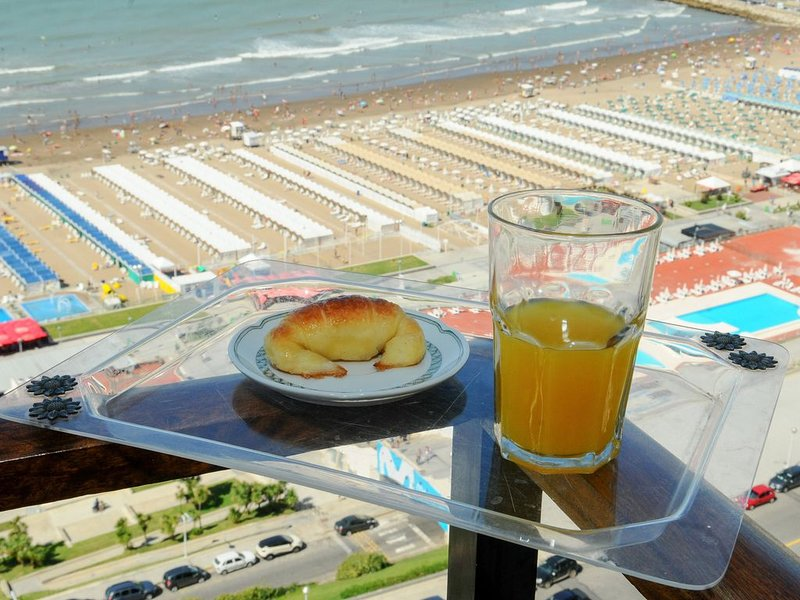 Beautiful sea front apartment in Argentina's classiest resort, holiday rental in Mar del Plata