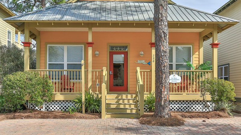 Happy Mermaid-1 Story Cottage on 30A-Fabulous Reviews-Short Walk to Beach – semesterbostad i Santa Rosa Beach