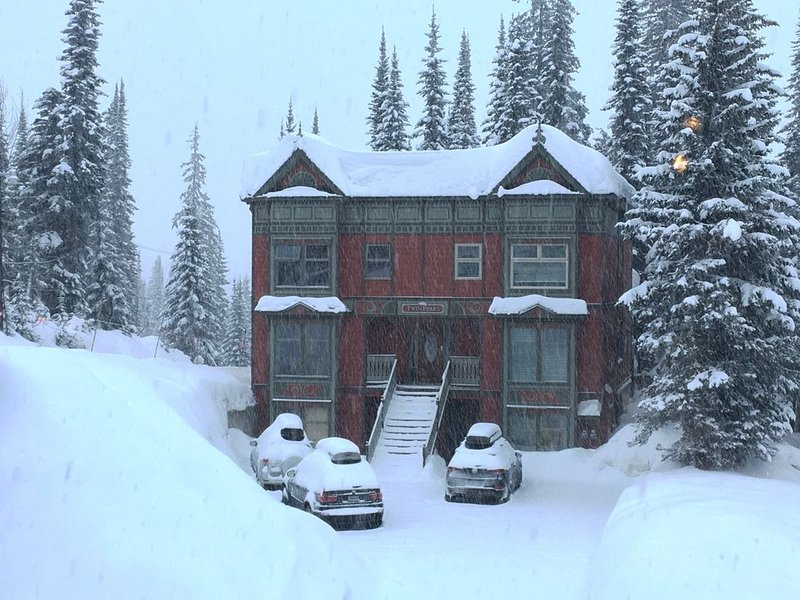 Twin Peaks A!!  True Ski-In Ski-Out 4-BR 4-BA 2200 sq ft 3 levels sleeps 15, vakantiewoning in Vernon