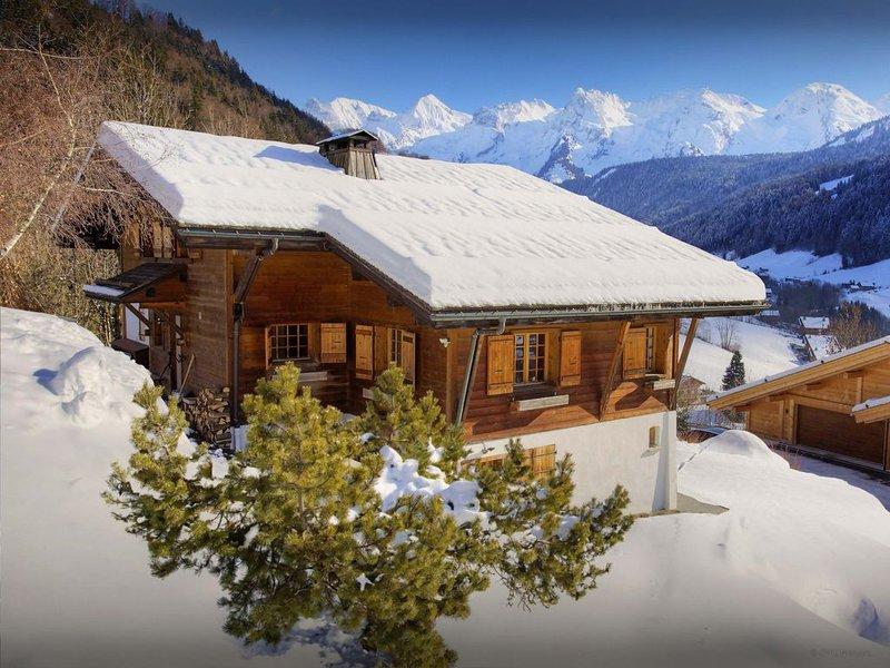 Chalet 5 étoiles avec sauna, jacuzzi. Proche piste & village - OVO Network, casa vacanza a Le Grand-Bornand