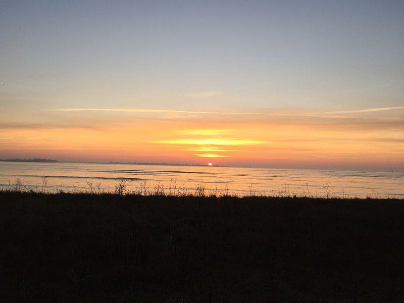 Sunrise beach landrezac