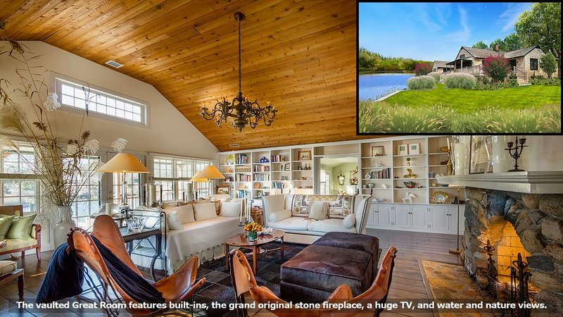 Designer's Secluded Waterfront Cottage, holiday rental in Westhampton Beach