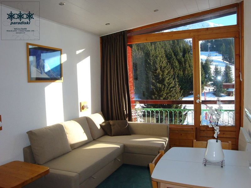 STUDIO CHARVET ARC 1800 - LAUZIERES - SKI FOOT SO, holiday rental in Les Arcs