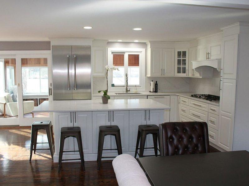 New kitchen, February 2019