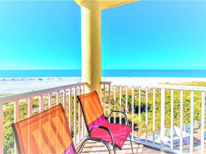 Gorgeous100% Direct  GulfFront  Corner unit , Sunset Vistas Resort, holiday rental in Treasure Island
