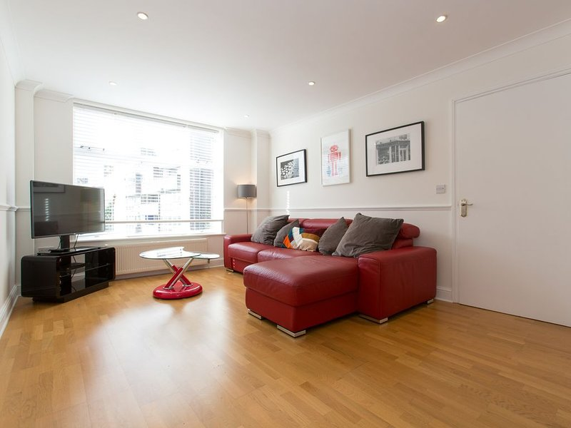 Lounge area with Italian leather sofabed, Multifunction TV & WiFi throughout
