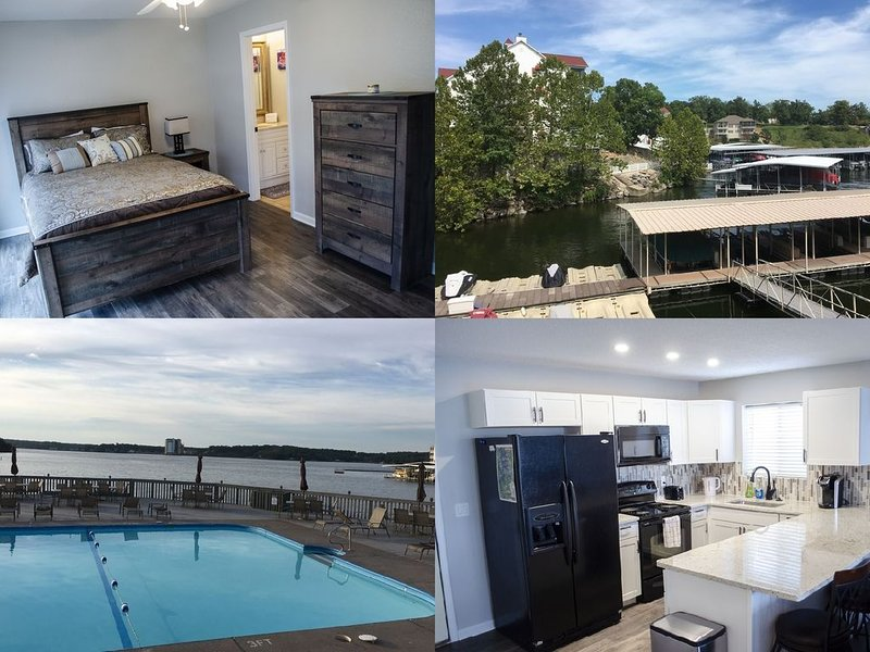 JUST REMODELED!! Beautiful waterfront condo! Boat slip included in the price!, holiday rental in Four Seasons