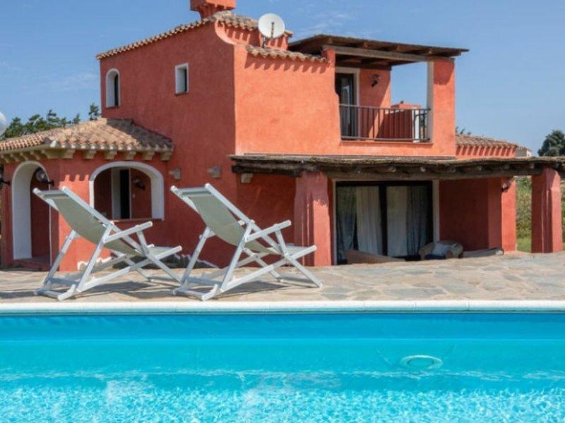 Villa Maddalena con piscina privata, holiday rental in Stintino