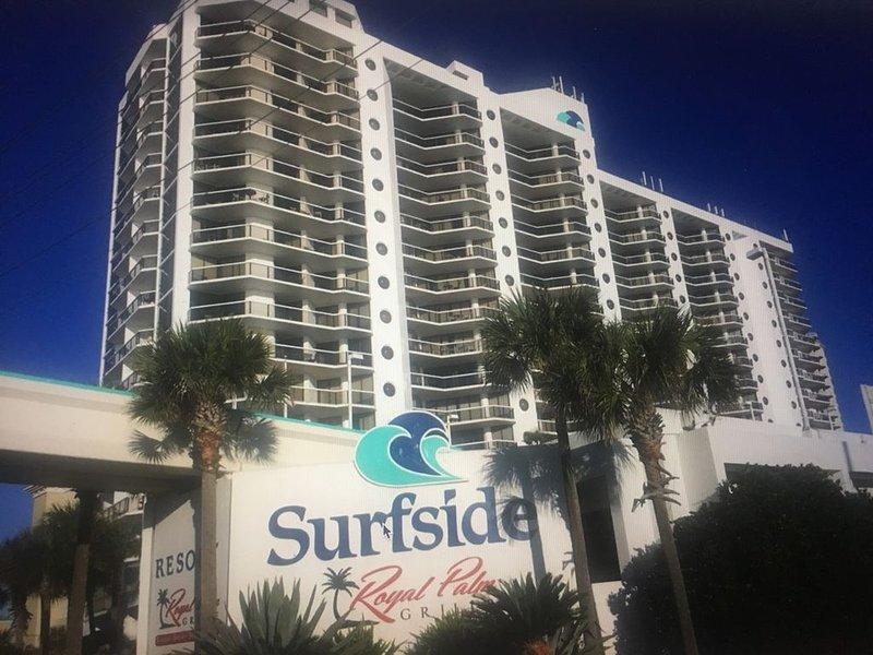Surfside Resort se encuentra en la playa de arena blanca de la Costa Esmeralda