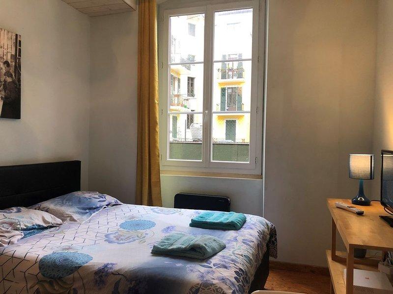 Studio bleu :Près du Lac, au coeur de la ville d'ANNECY, vakantiewoning in Annecy