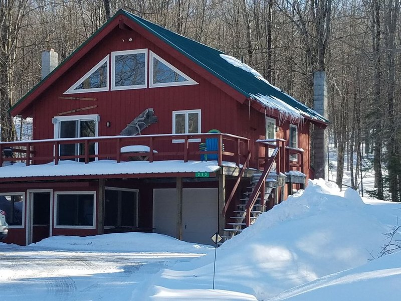 COZY, COMFY AND CONVENIENT. 5 star home minutes to Okemo. Ski season is here!, aluguéis de temporada em Mount Holly