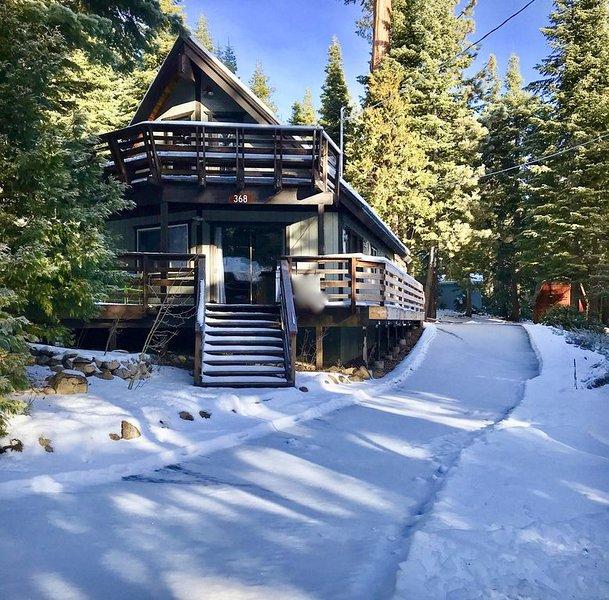 Tahoma-Cabin in The Woods, alquiler de vacaciones en Tahoma