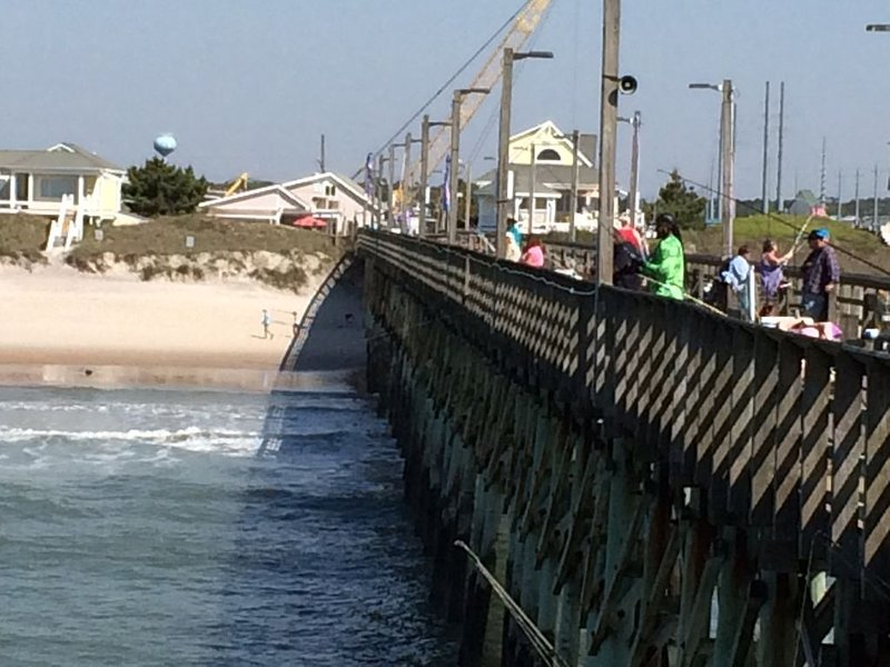 Fishing and fun from Surf City pier