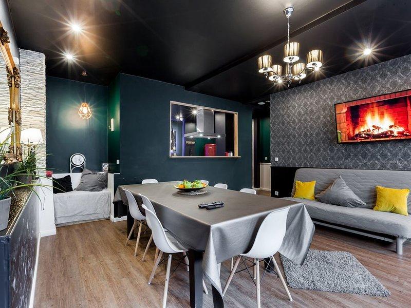 Helles und stilvolles Apartment in Schöneberg, location de vacances à Teltow