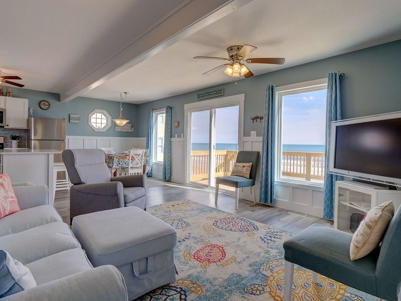 SEA CHARM *SPECTACULAR views everywhere*Perfect Reviews*Linens provided*NO PETS, holiday rental in Surf City