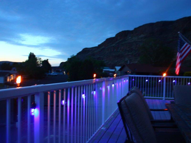 Las noches son increíbles aquí!