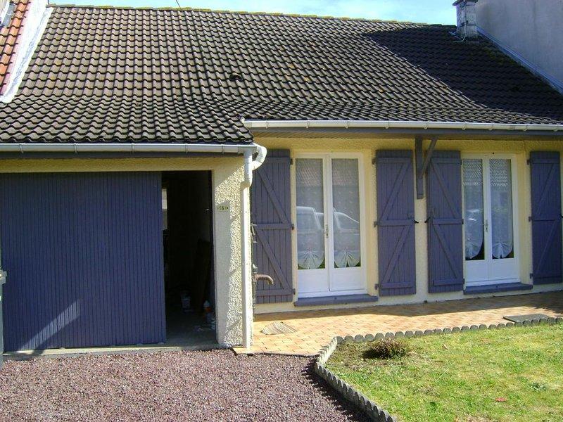 Merlimont : maison à proximité de la mer et de Berck pour 4 personnes., alquiler vacacional en Merlimont