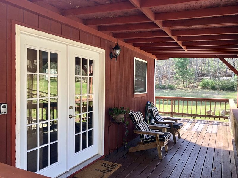 Time Spent in Nature Heals the Soul., holiday rental in Franklin