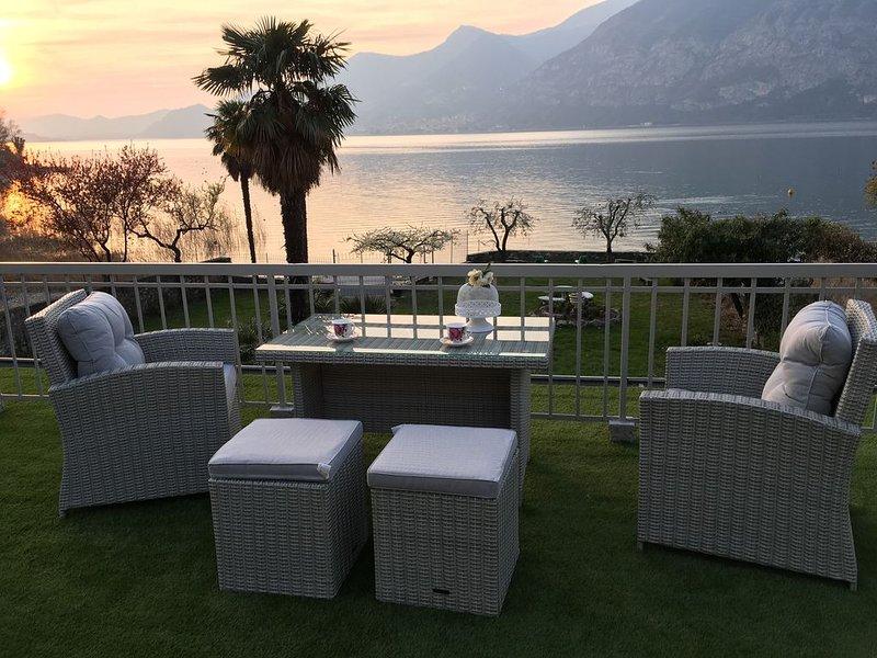 Appartamento con terrazzo Villa Franca 2, holiday rental in Peschiera Maraglio