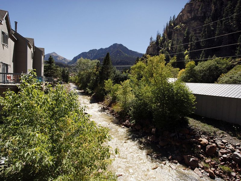 Pet Friendly - Deck Overlooking River, holiday rental in Ouray