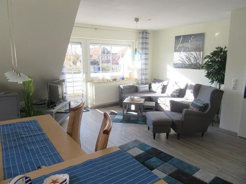 Apartment Greetsiel for 1 - 4 people 2 bedroom - apartment in one or multi-fami, holiday rental in Neuwesteel