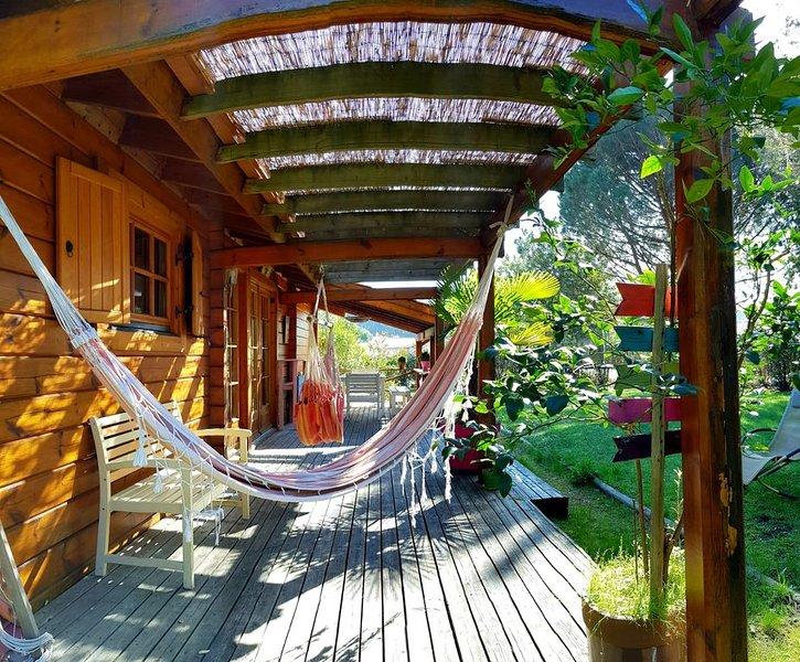 'Belle maison en bois', alquiler de vacaciones en Landes