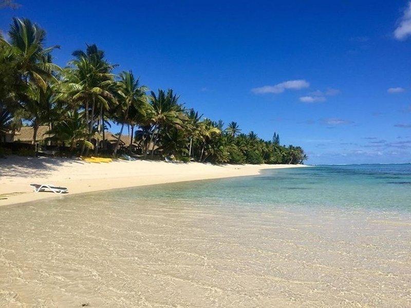 Te Rito Lagoon Villas - Deluxe Beach Unit, Ferienwohnung in Rarotonga