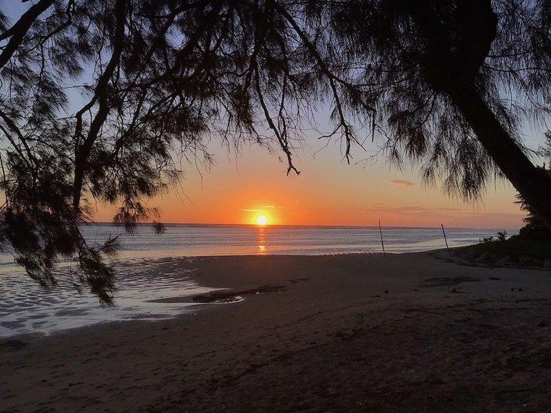 December 2018 sunset