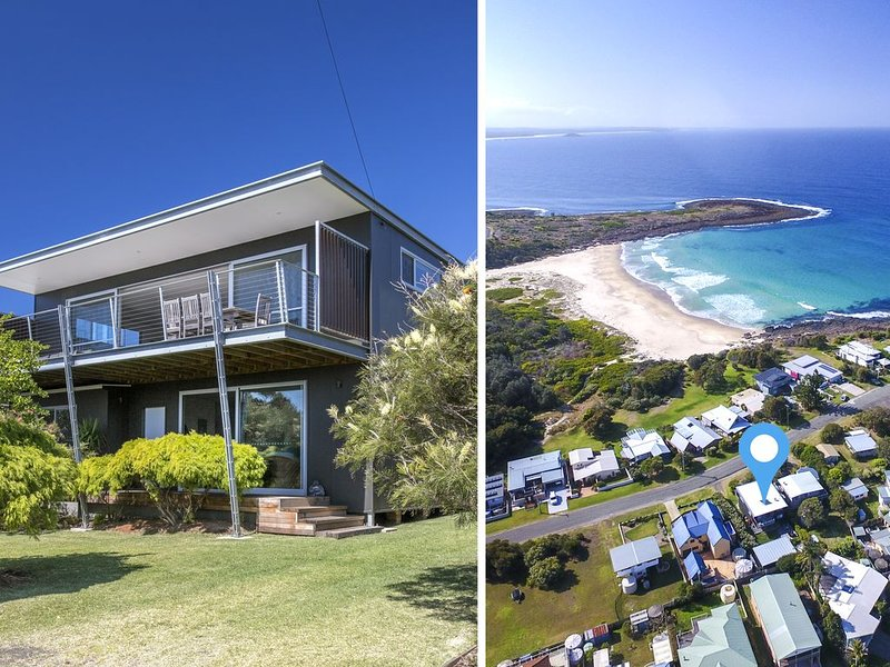 Juwin Beach House Bawley Point, holiday rental in East Lynne
