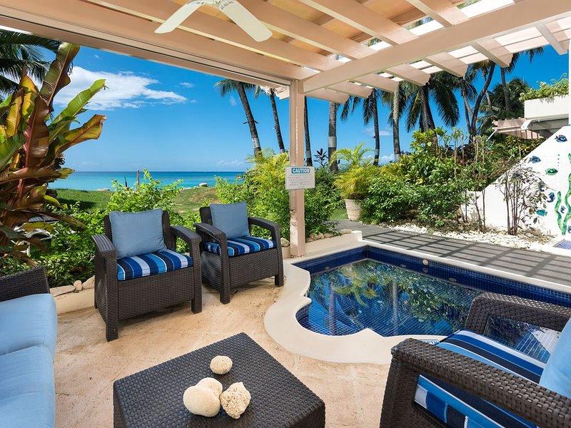 Relaxing terrace w/ pool