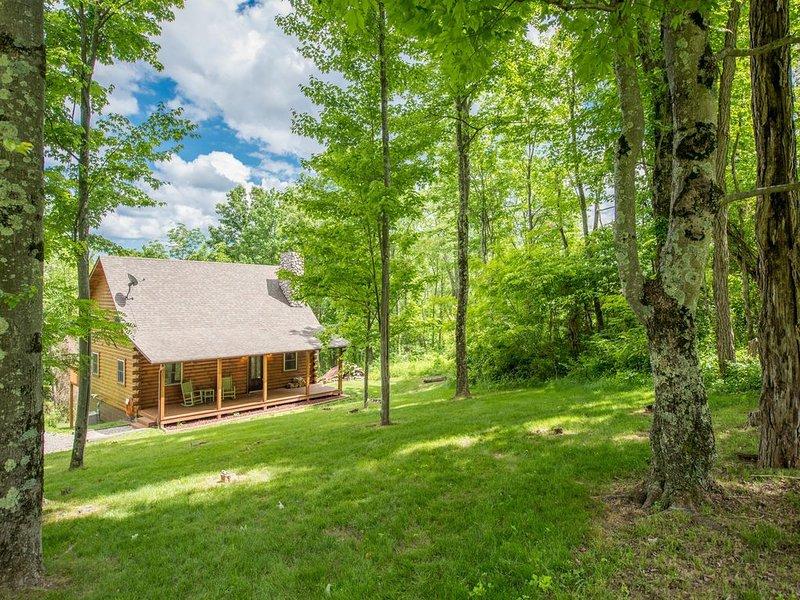 Great 4 BR pet friendly cabin with game room and close proximity to Old Man's Ca, holiday rental in Gibisonville