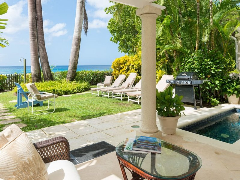 Steps from the Sea with Private Chef & Plunge Pool - Chanel No. 5, vacation rental in Holder's Hill