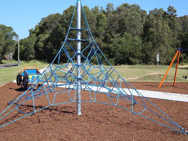 Playground at end of street