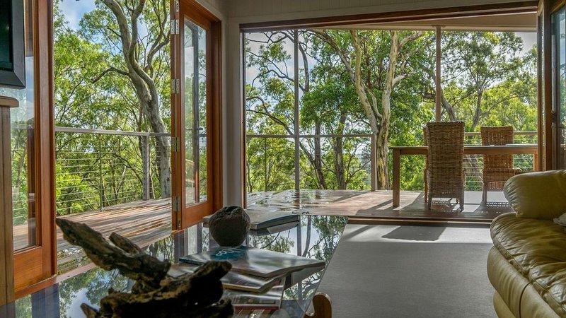 Nunyara Treehouse - North Maleny, vacation rental in Balmoral Ridge