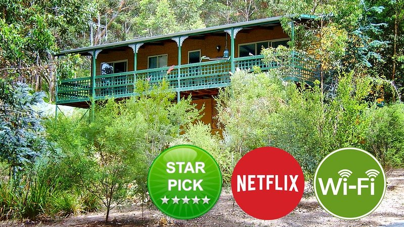 The Lookout, Denmark WA Accommodation - High Speed WIFI & Netflix, vacation rental in Denmark